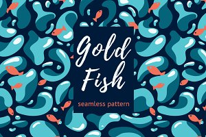 Gold Fish Pattern