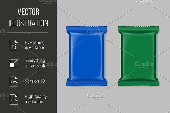 Polymer packaging set