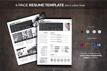 4 Page Resume Template