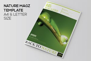 Nature Magazine Template