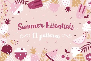 """Summer Essentials"" pattern set"
