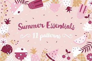 """""""Summer Essentials"""" pattern set"""