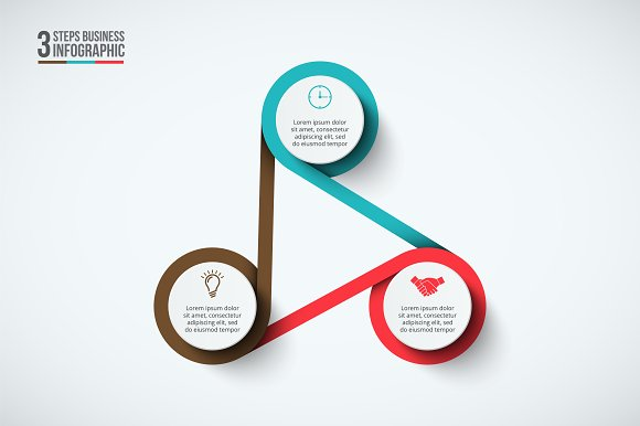 Infographics template set v.33 in Presentation Templates - product preview 2