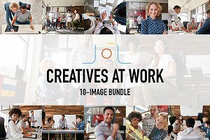 Creatives at Work (10-Image Bundle)