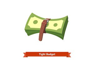 Tight budget and recession economy