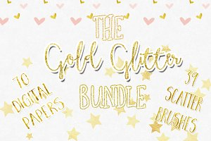 Gold Glitter Bundle