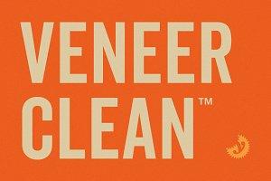 Veneer Clean Font Family