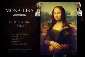 Mona Lisa - Polygonal / PRO Edition