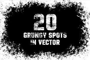 Grunge spot bundle
