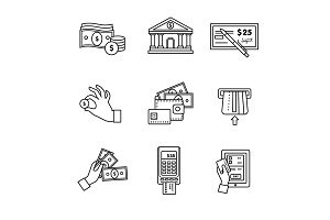 Banking icons