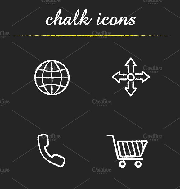 Web store icons set. Vector - Icons