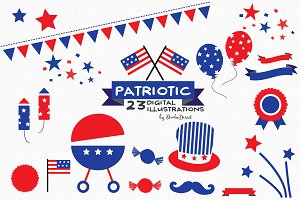 Patriotic - Digital Cliparts