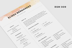 "Resume Template - ""Angetenar"""