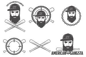 American lumberjack vector