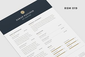 "Resume Template - ""Nebula"""