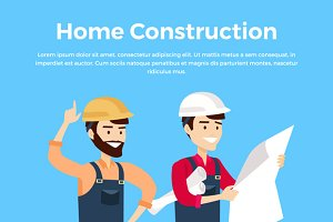 Home Construction Design Banner