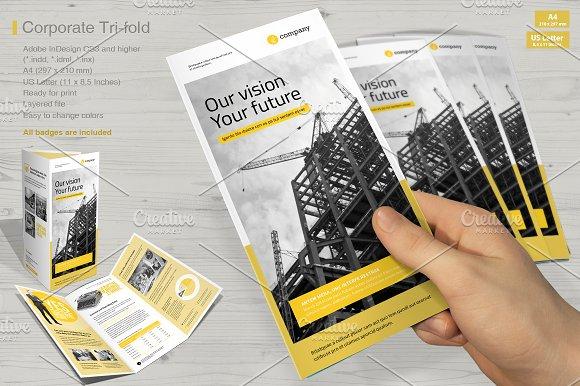Tri-fold Corporate Vol. 5 - Brochures