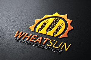 Wheat Sun Logo