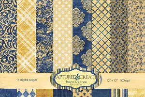 Royal Decree:Blue and Gold Digi Pack