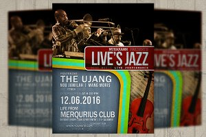 Jazz Retro Flyer / Poster