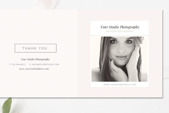 Photography 5x5 Trifold Brochure
