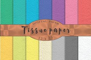 Tissue paper textures