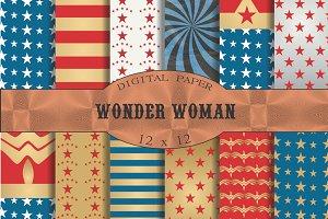 Stars and stripes 'Wonder Woman'