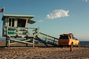 Life Guard Tower 2