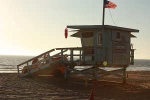 Life Guard Tower 1