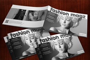 Fashion Magazine Style Presentation