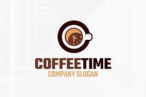 Coffee Time Logo Template