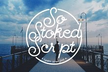 So Stoked Script Font