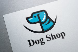 Dog Shop Logo Template