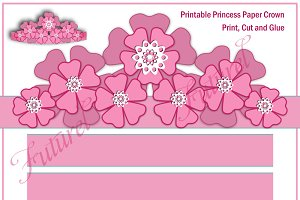 Printable Princess Paper Crown