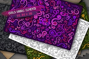 Curls & Swirls Set 2