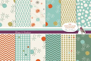 Vintage Jacks Digital Pattern Set 3