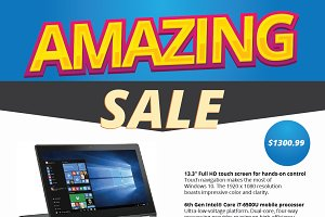 Laptop Sale Flyer