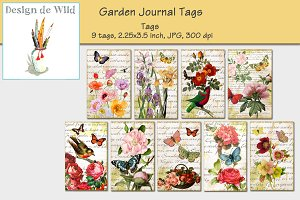 Garden Journal Tags No 3