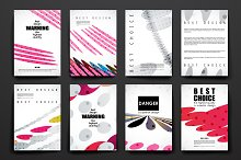 84 Abstract Brochures