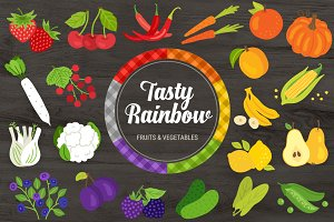 Tasty Rainbow + Bonus Patterns
