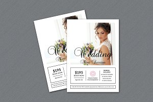 Wedding Mini Session Template-V324