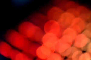 The red lights on black background