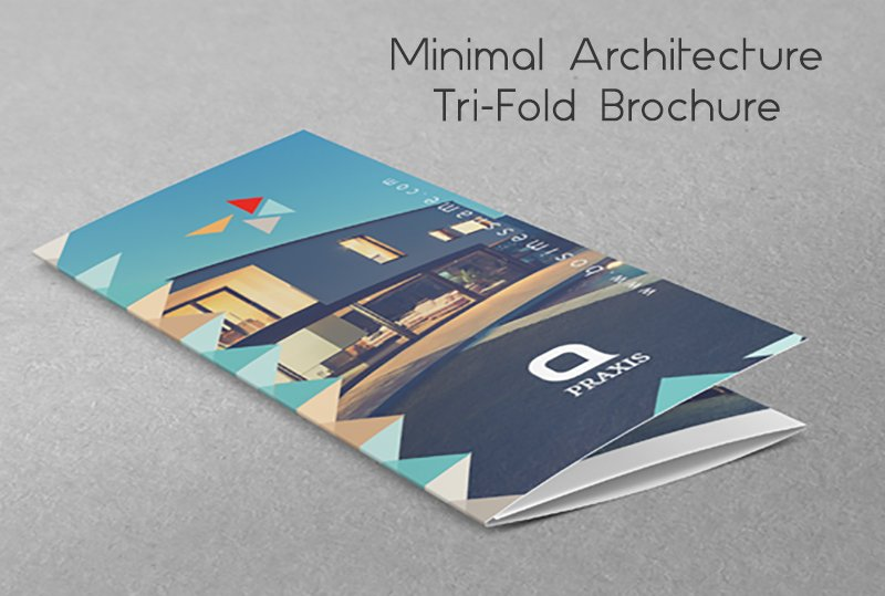 architecture tri fold brochure brochure templates creative market