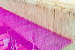 weaving thread for the textile