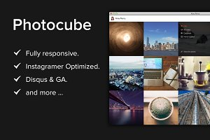 Photocube Tumblr Theme