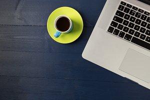 Computer + Coffee