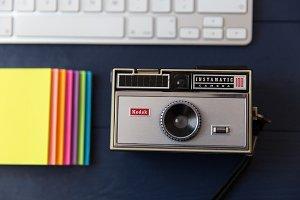 Cute Retro Camera