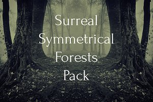 Surreal Symmetrical Forest Pack