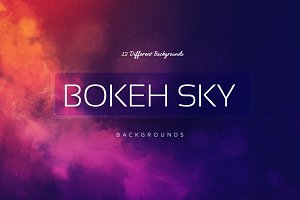 Bokeh SKY BGs | Sunrise colors