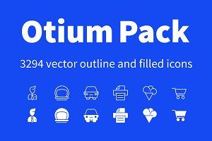 OTIUM Vector Icon Pack